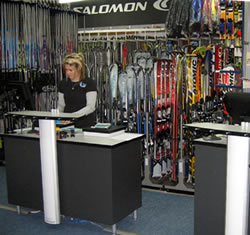ski and snowboard hire
